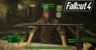 Fallout 4 Far Harbor Fish Catcher