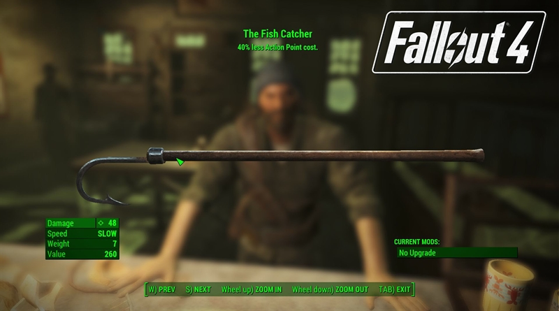 Fallout 4 Far Harbor Fish Catcher