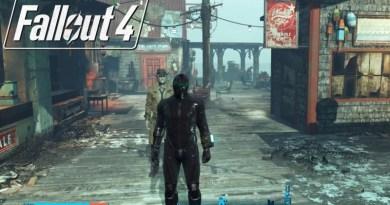 Fallout 4 Far Harbor Marine Wetsuit & Tactical Helmet
