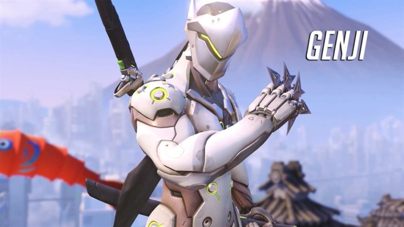 Overwatch Best Heroes - GENJI