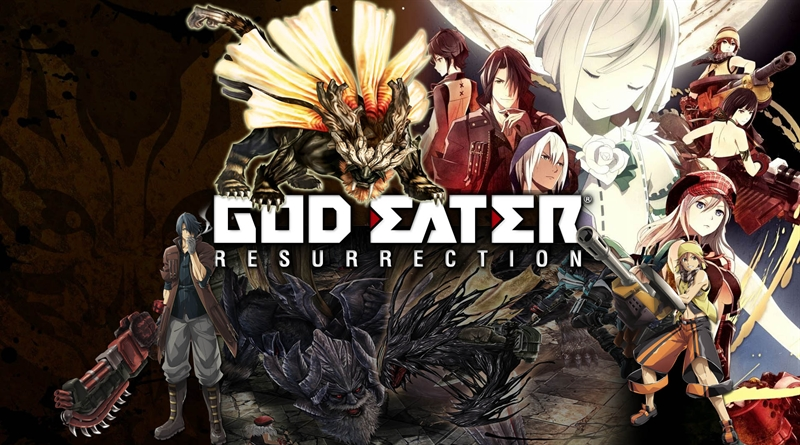 Top 10 Video Games Coming in June - God Eater Resurrection
