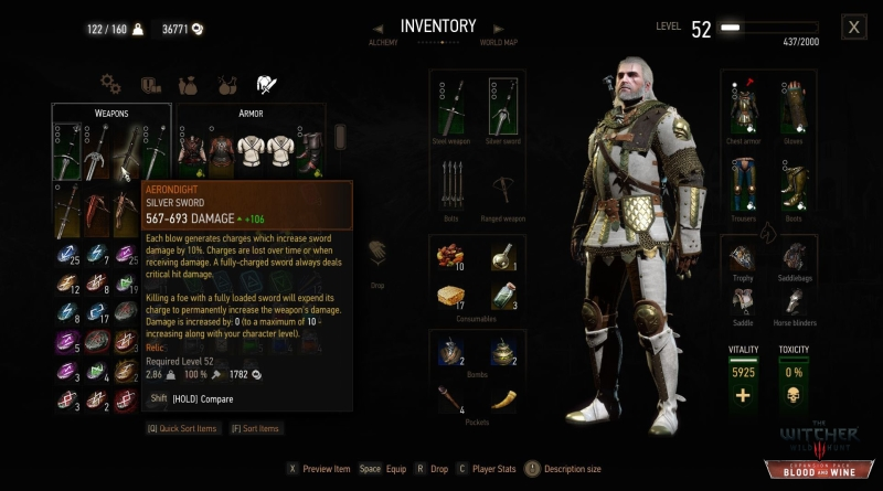 Witcher  Grandmaster Crafting How
