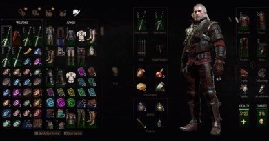 The Witcher 3 Blood and Wine Grandmaster Wolf Gear