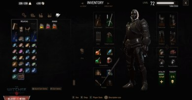 The Witcher 3 Blood and Wine Tesham Mutna Armor