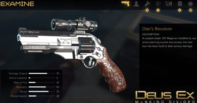 Deus Ex Mankind Divided How to Get Otar's Revolver