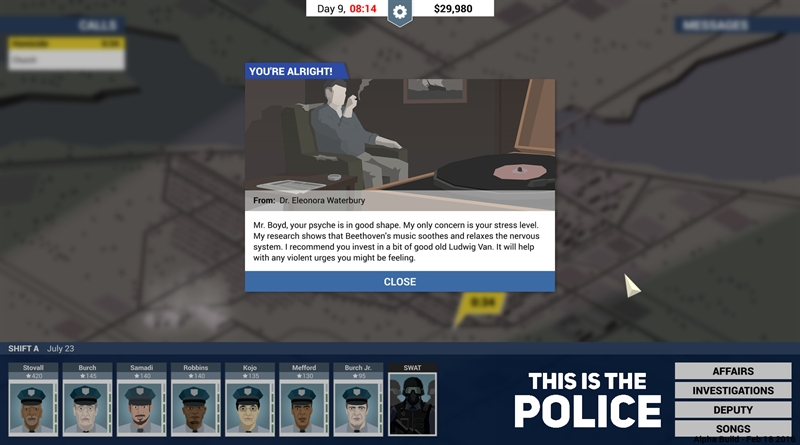 This is the Police Places on the Map Guide