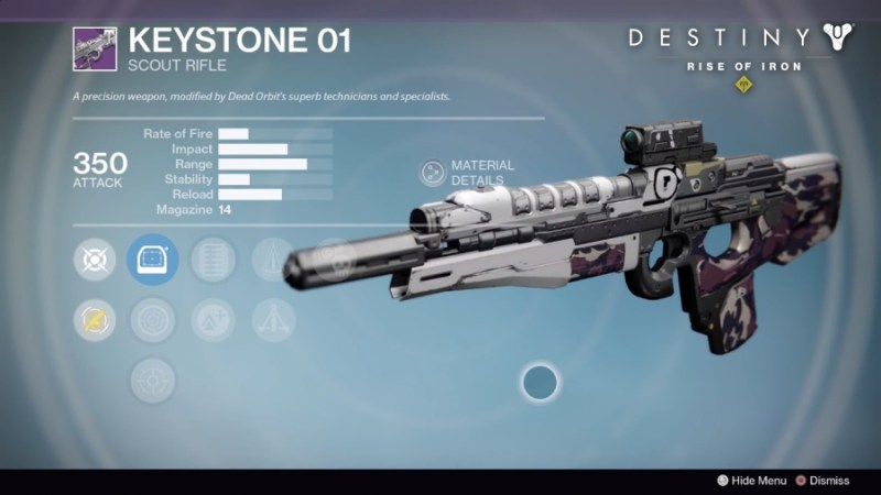 Best Vendor Weapons in Destiny Rise of Iron - KeyStone 01