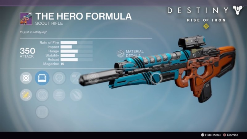 Best Vendor Weapons in Destiny Rise of Iron - The Hero Formula
