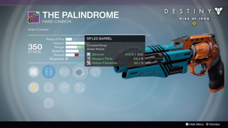Best Vendor Weapons in Destiny Rise of Iron - The PalinDrome