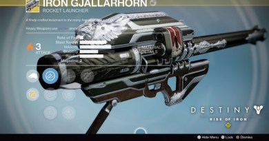 How To Get Exotic Weapons in Destiny Rise of Iron - Iron Gjallarhorn