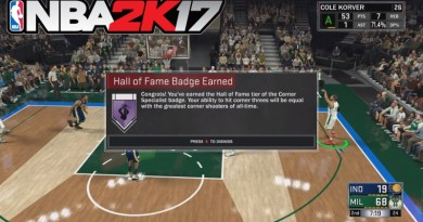 How to Earn Hall of Fame Badges in NBA 2K17