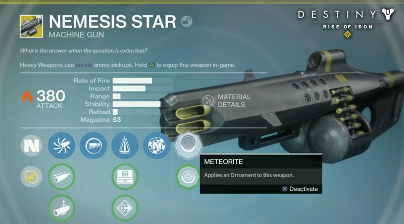 How to Get Nemesis Star in Destiny Rise of Iron