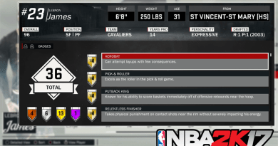 How to Unlock Every Badge in NBA 2K17