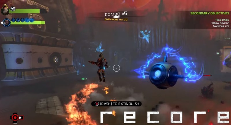 ReCore Game Review - Combat