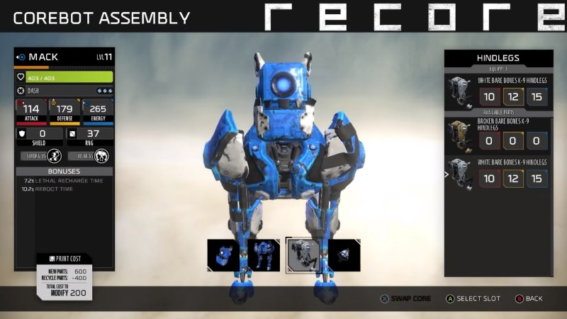 ReCore Game Review - Robots