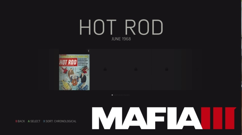 Every Hot Rod Magazine Location in Mafia 3