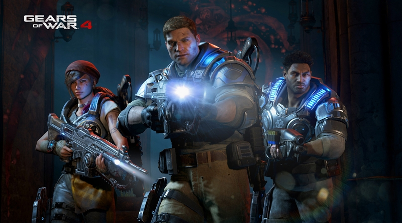 Gears of War 4 Review - Characters