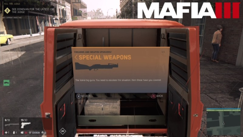 How to Customize Weapons in Mafia 3 - Special Weapons
