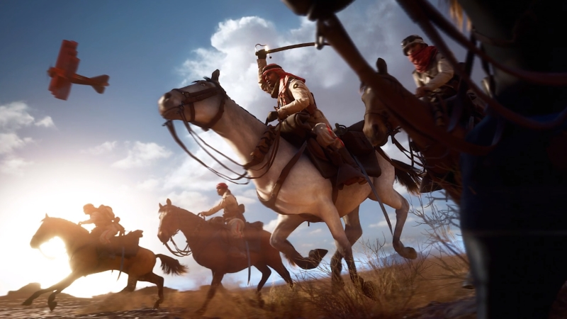 Top 10 Battlefield 1 Multiplayer Tips - Horse