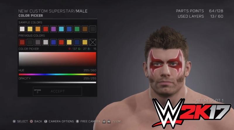 WWE 2K17 Review - Character Customization