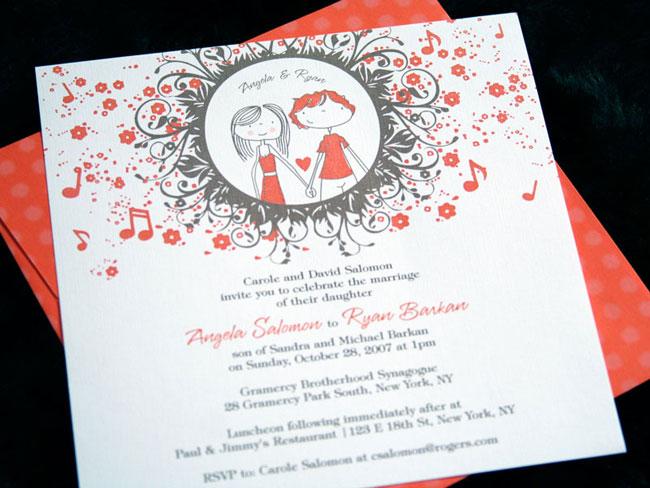 25 Creative Wedding Invitations