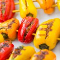 Shrimp & Mushroom Stuffed Bell Pepper funloveandcooking.com feature