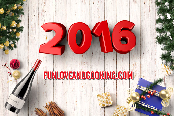 Happy New Year 2016 funloveandcooking.com