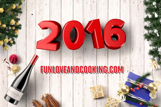 Happy New Year 2016 funloveandcooking.com