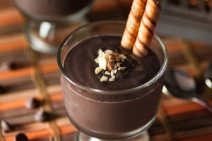 Coffee and Chocolate Pudding recipe funloveandcooking.com