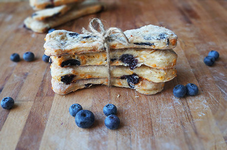 grain free blueberry and banana dog treats