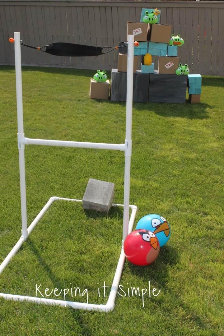 DIY Angry Birds slingshot