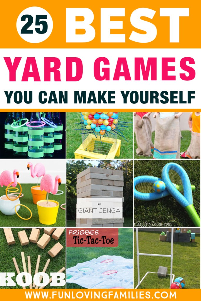 Best backyard party games you can make yourself