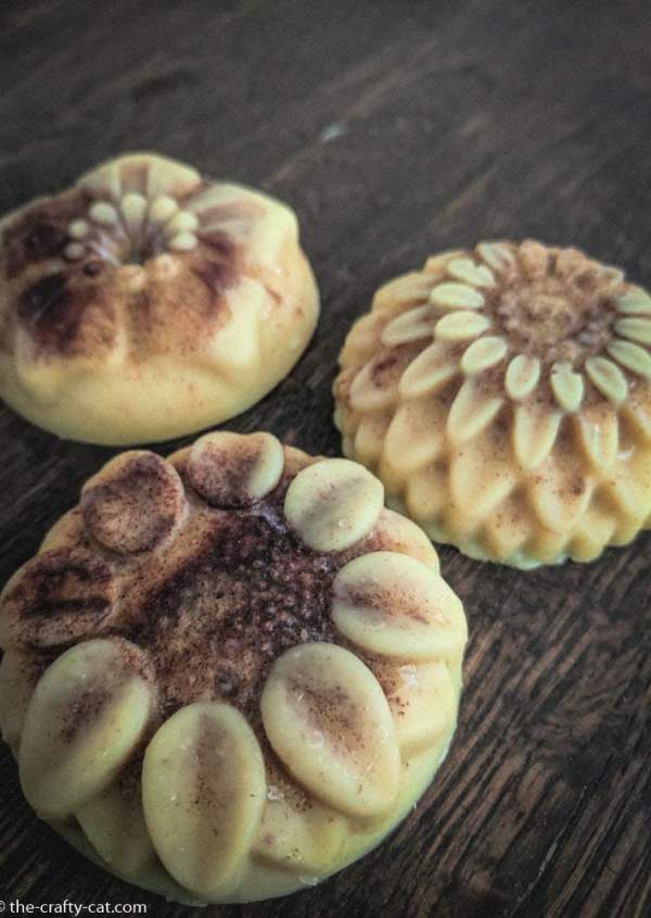 These beautiful DIY lotion bars are perfect for gift giving, or to include at your Fall DIY Spa Day