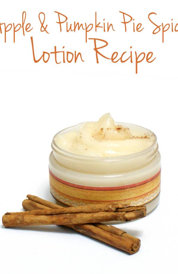 Check out this recipe for homemade Apple Pumpkin lotion. Perfect DIY spa day idea.