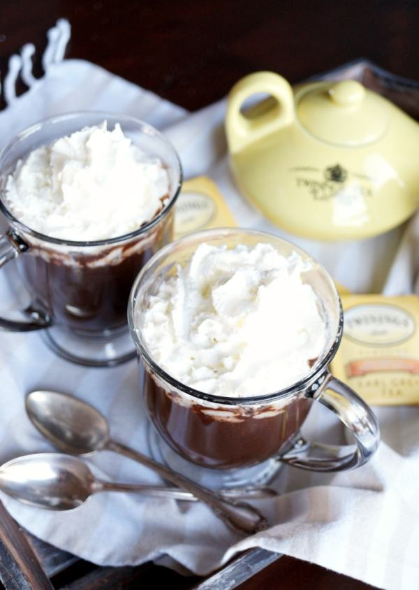 Delicious hot drink recipes, including this Earl Grey Hot Chocolate recipe