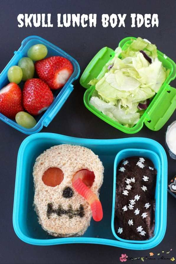 Surprise the kids with these awesome and creepy Halloween lunch ideas.