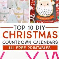 Top 10 DIY Printable Advent Calendar Ideas for Christmas Countdown Fun