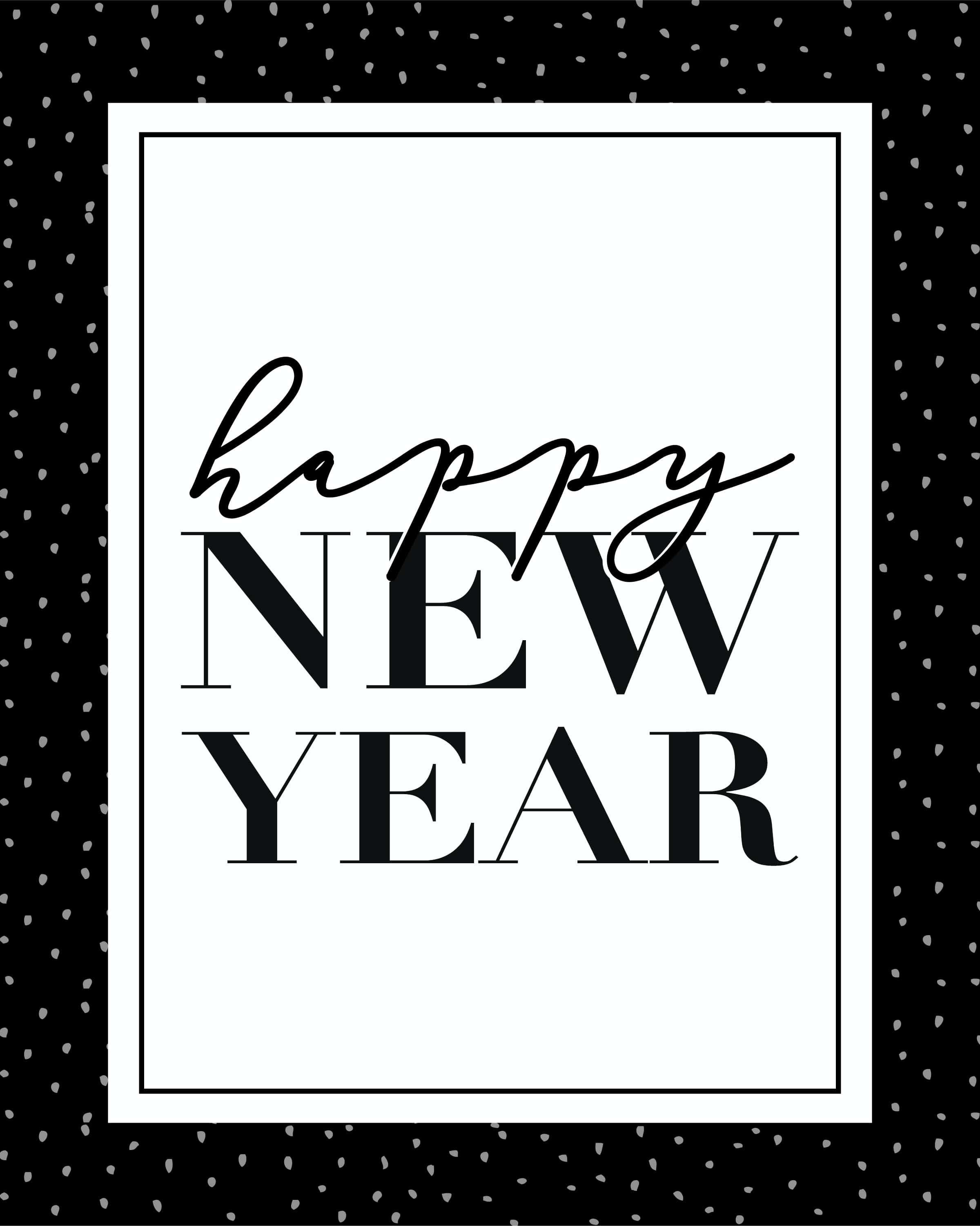 New Year S Eve Party Printables