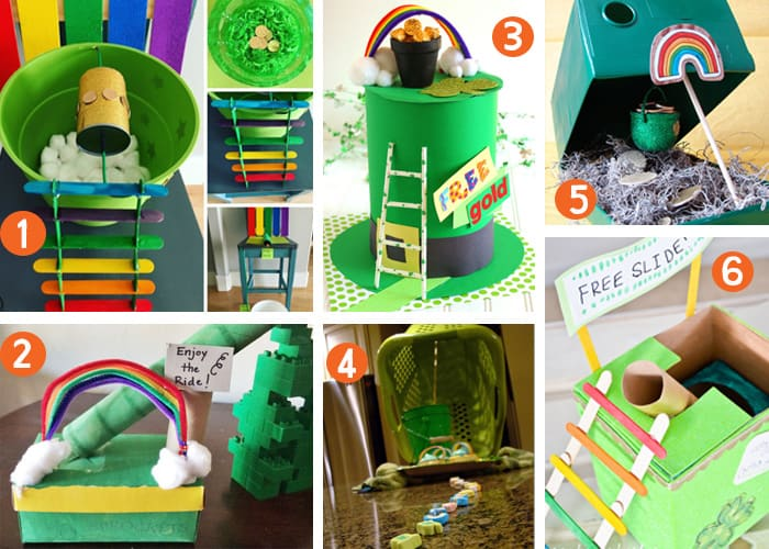 These leprechaun trap ideas will help get your kids thinking about how they can make their own leprechaun traps this St. Patrick's Day. See the ideas and help your kids with this fun and creative St. Patrick's Day activity.
