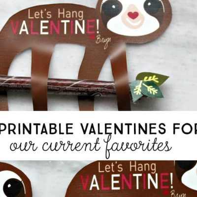 Best Free Printable Valentines for Kids