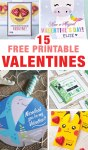 15 free printable valentines for kids
