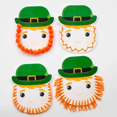 Easy Leprechaun Craft for Kids with Free Printable