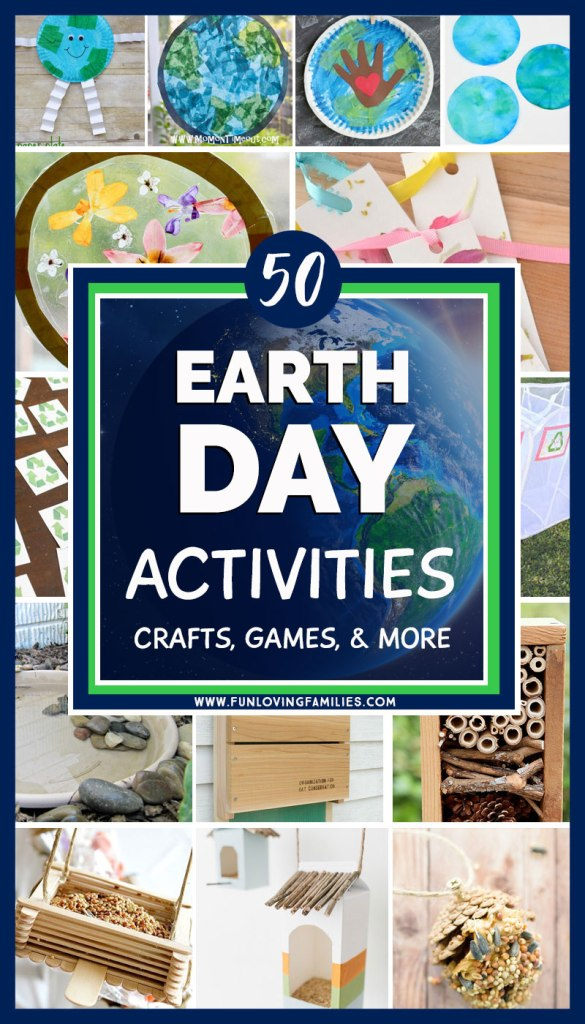 Earth day activities, crafts, and more ideas for kids