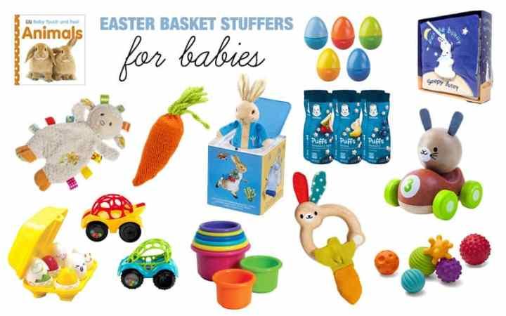 easter basket stuffers for babies