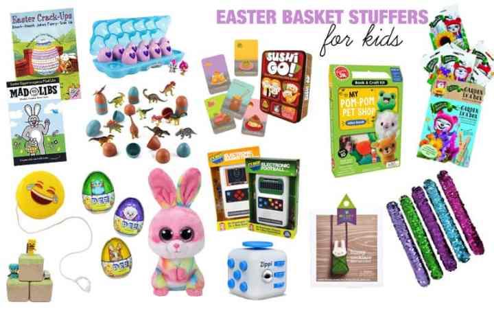 easter basket sutffer ideas for kids ages 5-10