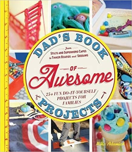 Project book for dads and kids: father's day gift idea.
