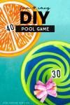DIY pool game