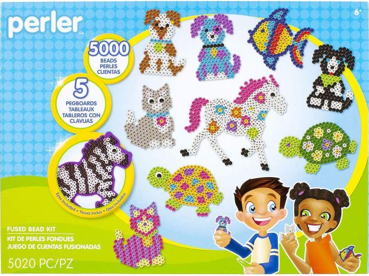 Perler bead animal patterns craft kit