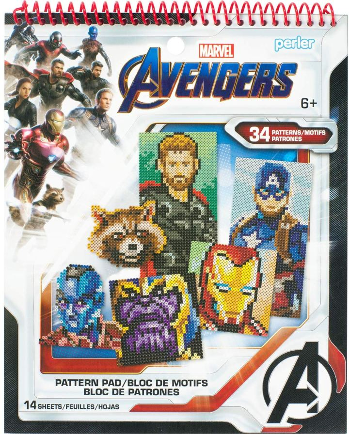avengers pattern book for perler bead crafts