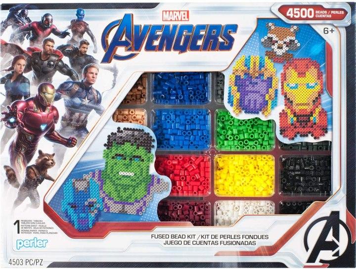 Avengers Perler Bead making kit
